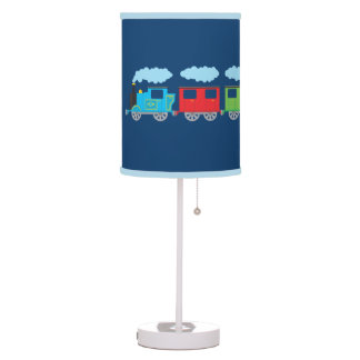 Train & Two Carriages Table Lamp