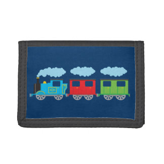 Train & Two Carriages Wallets