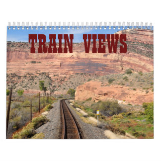 TRAIN VIEWS CALENDAR