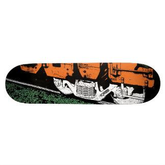 Train Wheels Skateboard