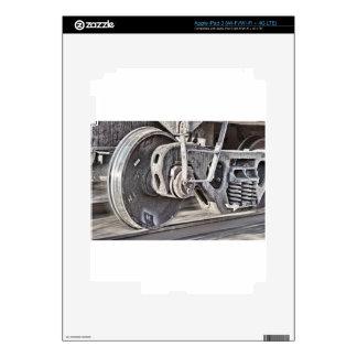 Train Wheels iPad 3 Decals