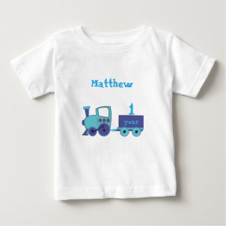 train with age baby boy baby T-Shirt