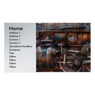 Train - With age comes beauty Double-Sided Standard Business Cards (Pack Of 100)