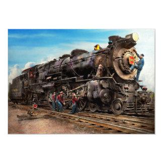 Train - Working on the railroad 1930 Card