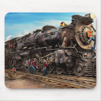 Train - Working on the railroad 1930 Mouse Pad