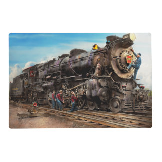 Train - Working on the railroad 1930 Placemat
