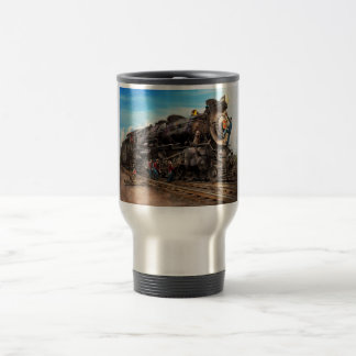 Train - Working on the railroad 1930 Travel Mug