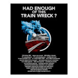 Train Wreck (16x20) Poster