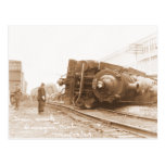 Train Wreck 1929 Post Cards
