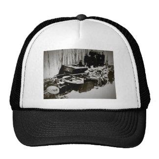Train Wreck at Harbor Beach Michigan Trucker Hat