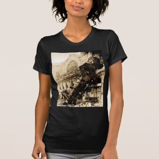 Train Wreck at Montparnasse , 22 October 1895 Tee Shirt