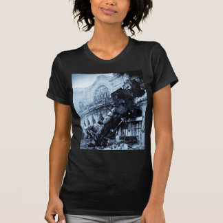 Train Wreck at Montparnasse , 22 October 1895 Tshirt
