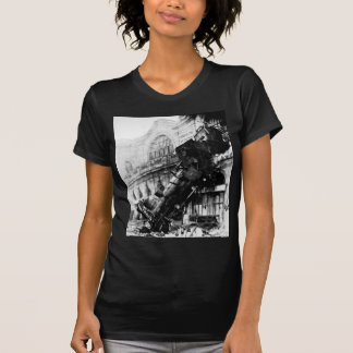 Train Wreck at Montparnasse , 22 October 1895 Shirt