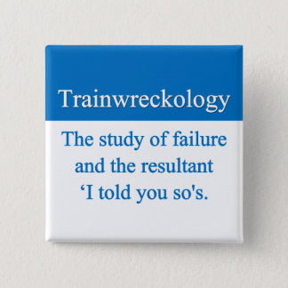 Train Wreck Button