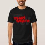 train wreck cwf t-shirt