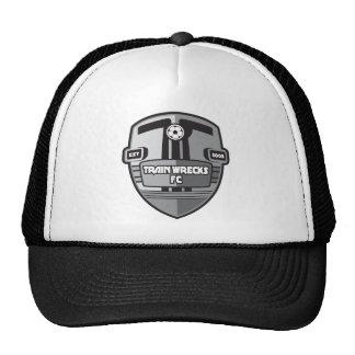 Train Wreck FC logo Trucker Hat