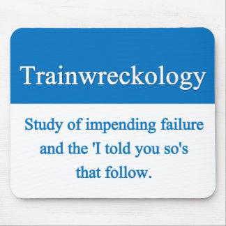 Train Wreck Mousepad