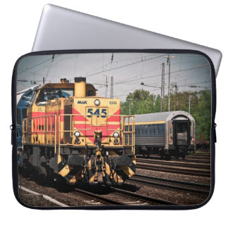 Train Yard Engine Computer Sleeve