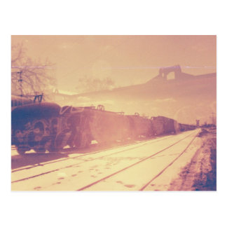 Train Yard Post Card