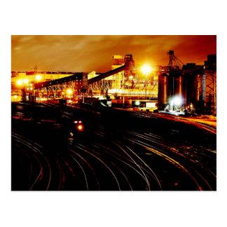Train Yard Postcard