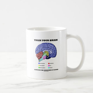 Train Your Brain Eliminate Sensation Of Fatigue Coffee Mug