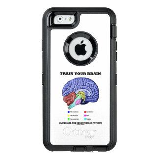 Train Your Brain Eliminate Sensation Of Fatigue OtterBox Defender iPhone Case