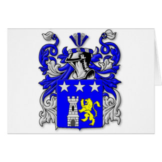 Traina Coat of Arms Greeting Card