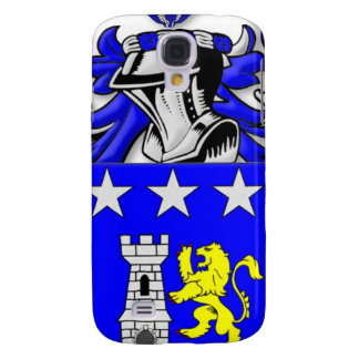 Traina Coat of Arms Galaxy S4 Cases
