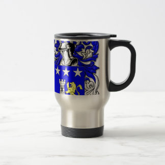 Traina Coat of Arms 15 Oz Stainless Steel Travel Mug