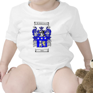 Traina Coat of Arms Baby Bodysuits