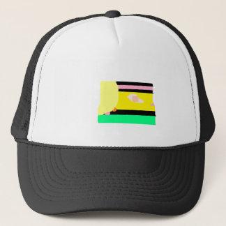 traincartoon.png trucker hat