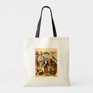 Trained Dog Act 1899 - Vintage Circus Act Poster Tote Bag