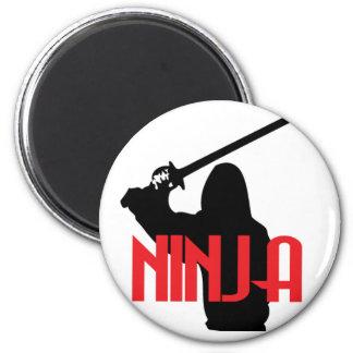 Trained Ninja Fridge Magnets