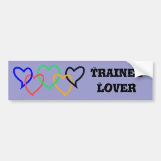 Trainee lover bumper sticker