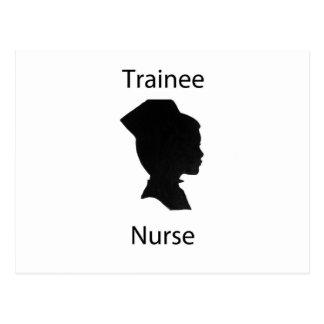 trainee nurse postcard