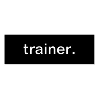 Trainer Business Card