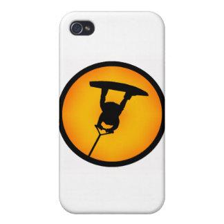 Trainera de Wakeboard Sun iPhone 4/4S Carcasa