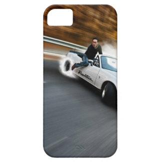 Trainera loca del automóvil descubierto iPhone 5 cárcasas