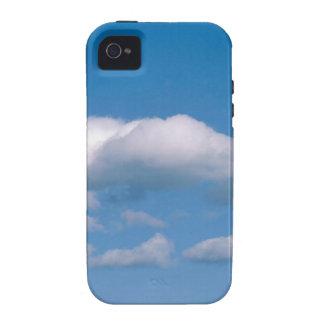 Traineras de las nubes Case-Mate iPhone 4 funda