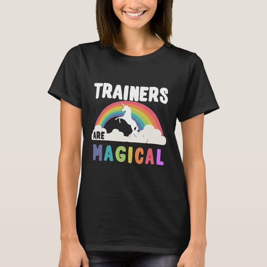 Trainers Are Magical T-Shirt - Best Selling Long-Sleeve Street Fashion Shirt Designs