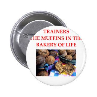 TRAINERS 2 INCH ROUND BUTTON