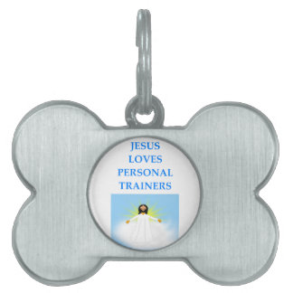 TRAINERS PET TAG