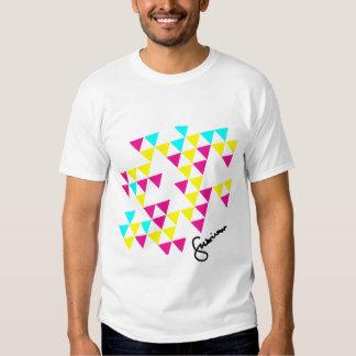 Traingle Scatterd T-shirt