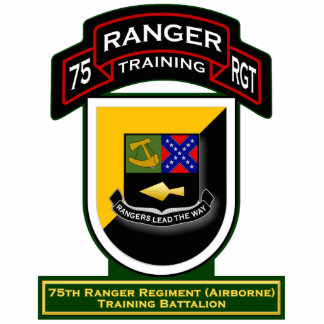 Training Bn, 75th Ranger Regiment - Airborne 1 Statuette