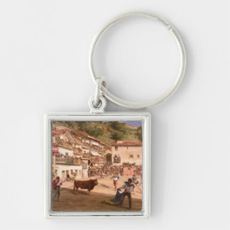 Training Fight in Biscay, 1869 Keychain