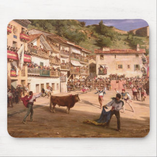 Training Fight in Biscay, 1869 Mouse Pad