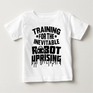 Training For The Robot Uprising Tees