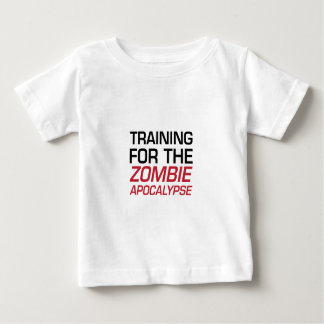 Training for the Zombie Apocalypse Baby T-Shirt
