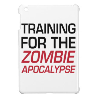 Training for the Zombie Apocalypse iPad Mini Cover