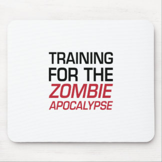 Training for the Zombie Apocalypse Mouse Pad
